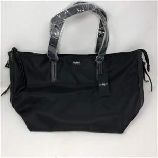 BOTKIER NEW YORK w tags black tote leather monogram bag