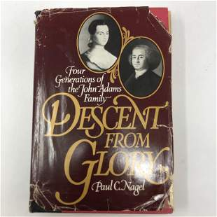 Descent From Glory, Nagel, OXFORD 1983 hardcover w