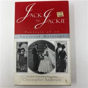 Jack and Jackie, Andersen WM MORROW 1996 hardcover w