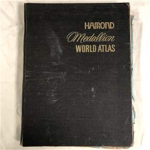 HAMMOND MEDALLION WORLD ATLAS New Perspective Edition