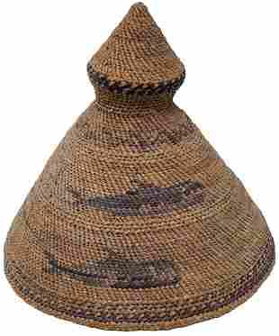 NOOTKA RAIN HAT/ LEANA JUMBO - Maquinna Hat COA