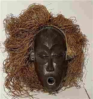Original Circa 1930s KUBA Mask from Zaire