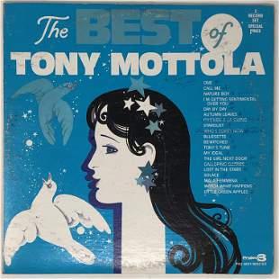 Tony Motola, THE BEST OF , PR2-6031/6032 SD, Project 3