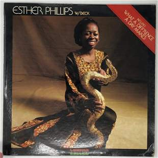 Esther Phillips w/Beck, What a difference a day makes,