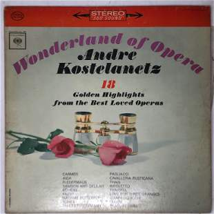 Andre Kostelanetz, Wonderland of Opera, CS 8795,