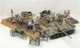 Vintage Military Toy Soldiers, Vehicles, Revolutionary