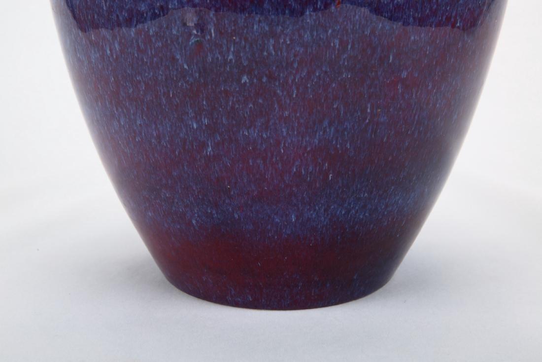 Chinese flambe porcelain jar, Daoguang mark. - 3