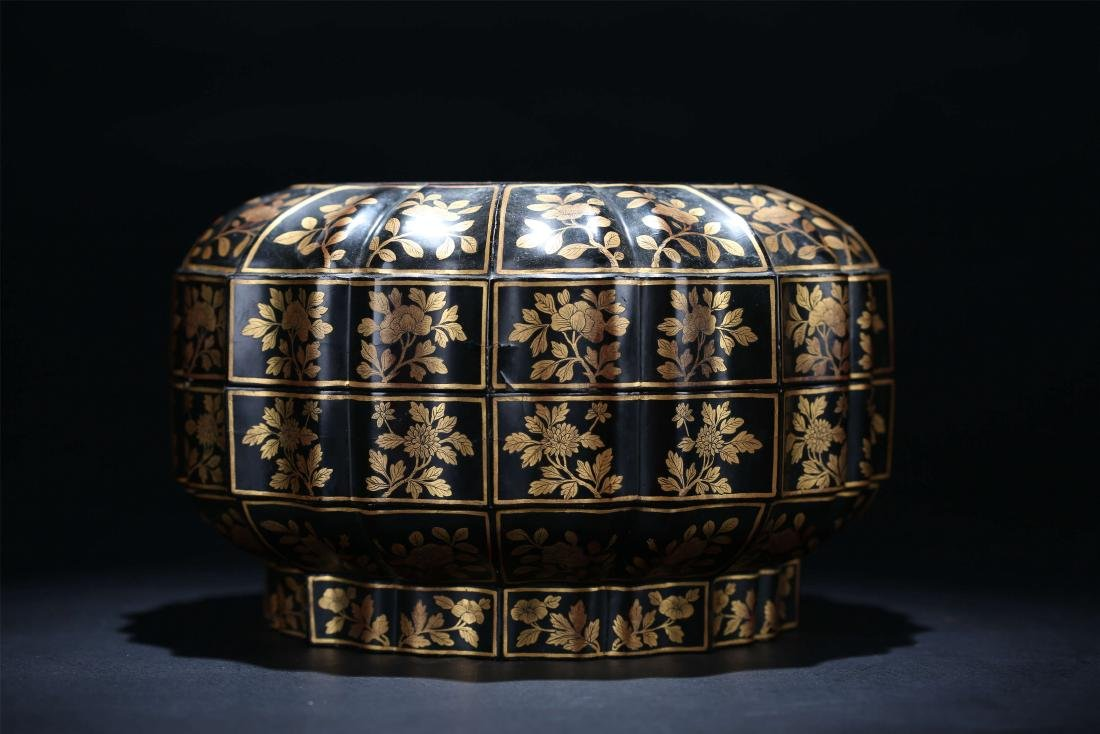 Chinese lacquer box.