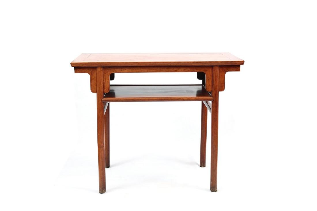 Chinese rosewood table.