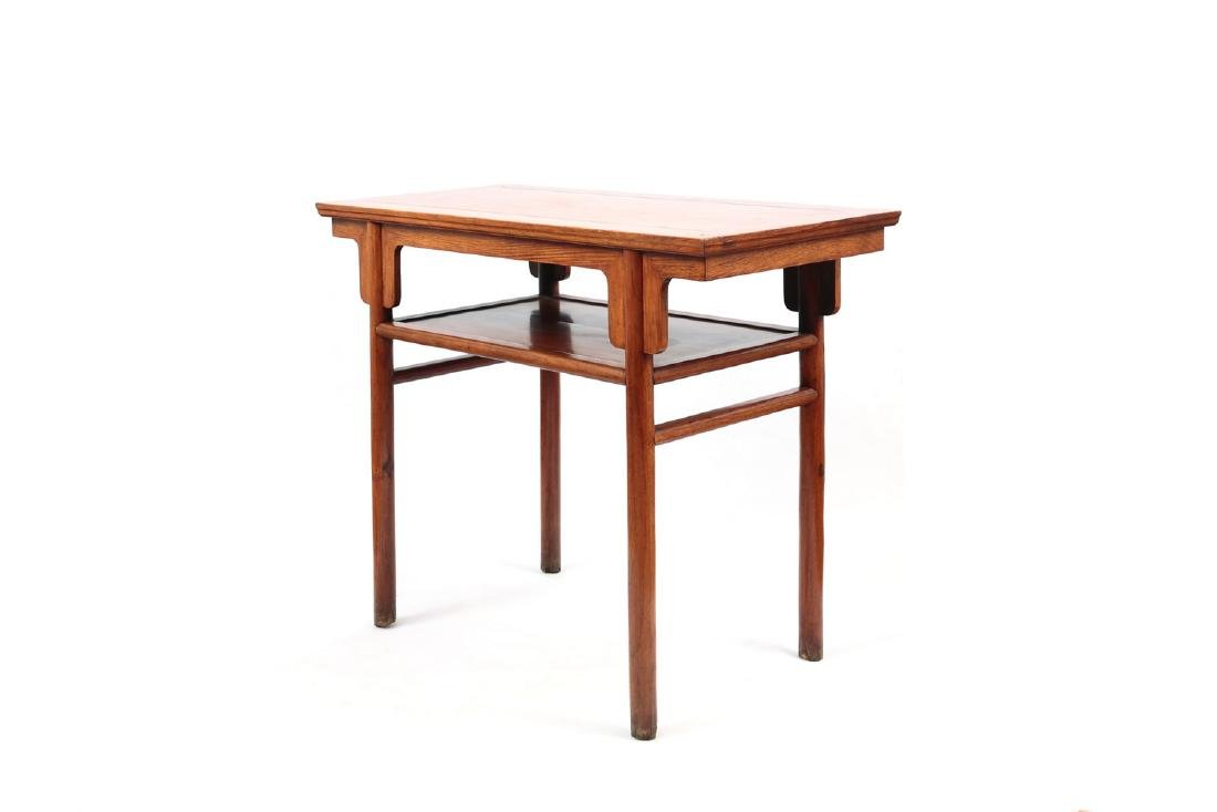 Chinese rosewood table. - 2