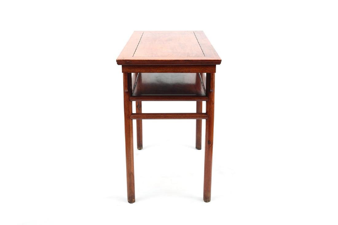 Chinese rosewood table. - 3