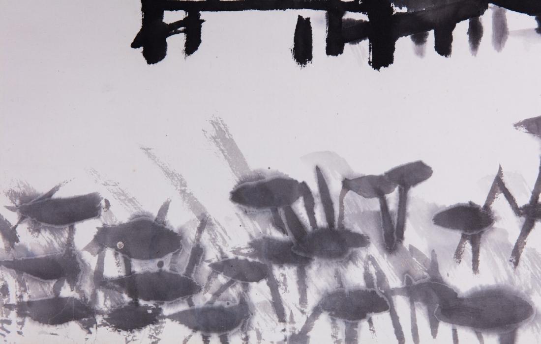 Chinese ink painting, attributed to Li Keran. - 3