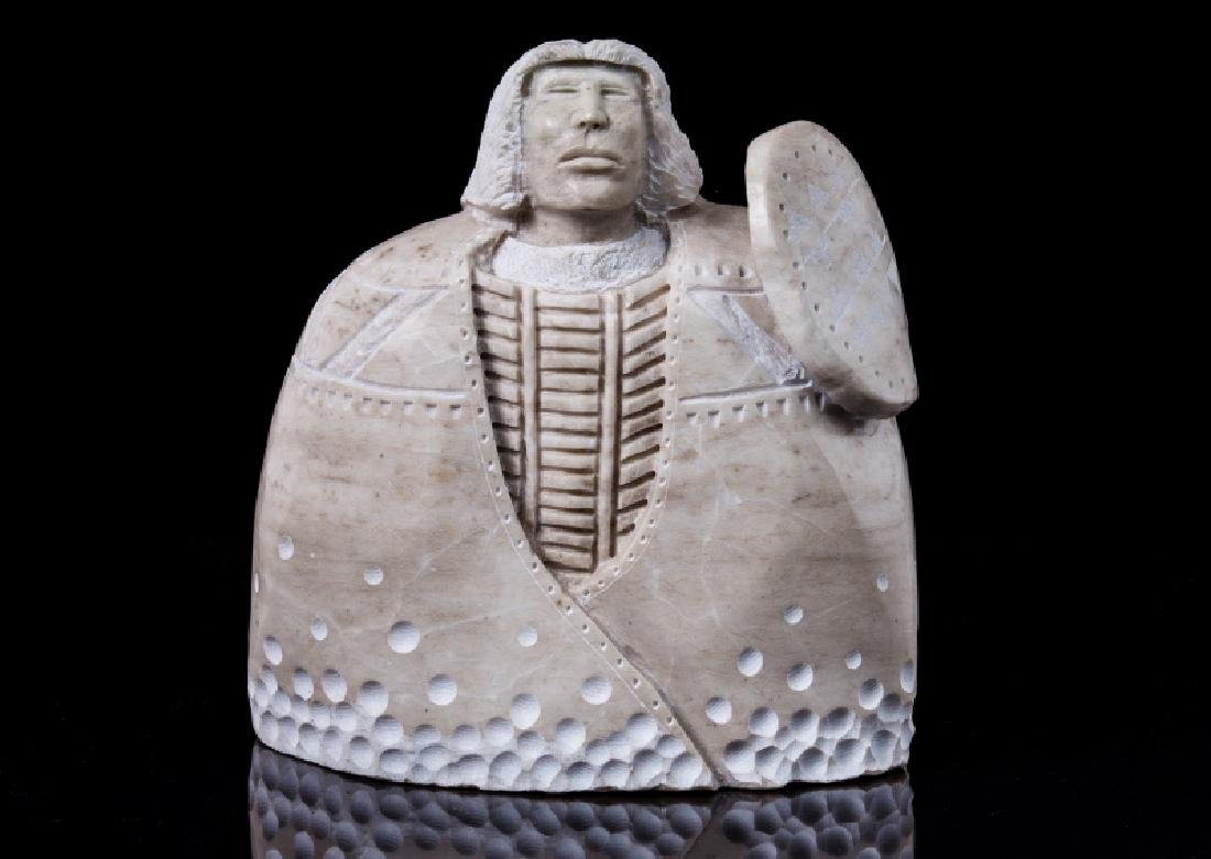 Zuni fetishes navajo carved alabaster shalako kachina