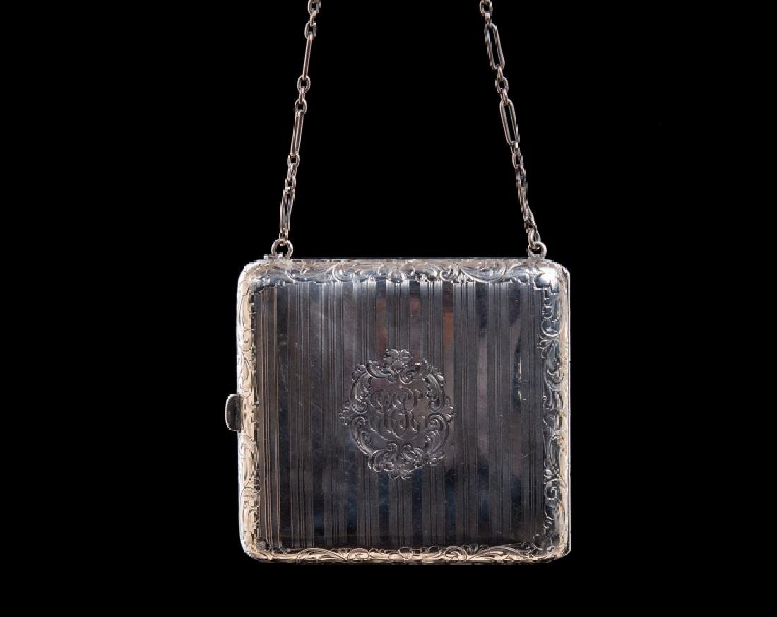 STERLING SILVER COIN PURSE - 4