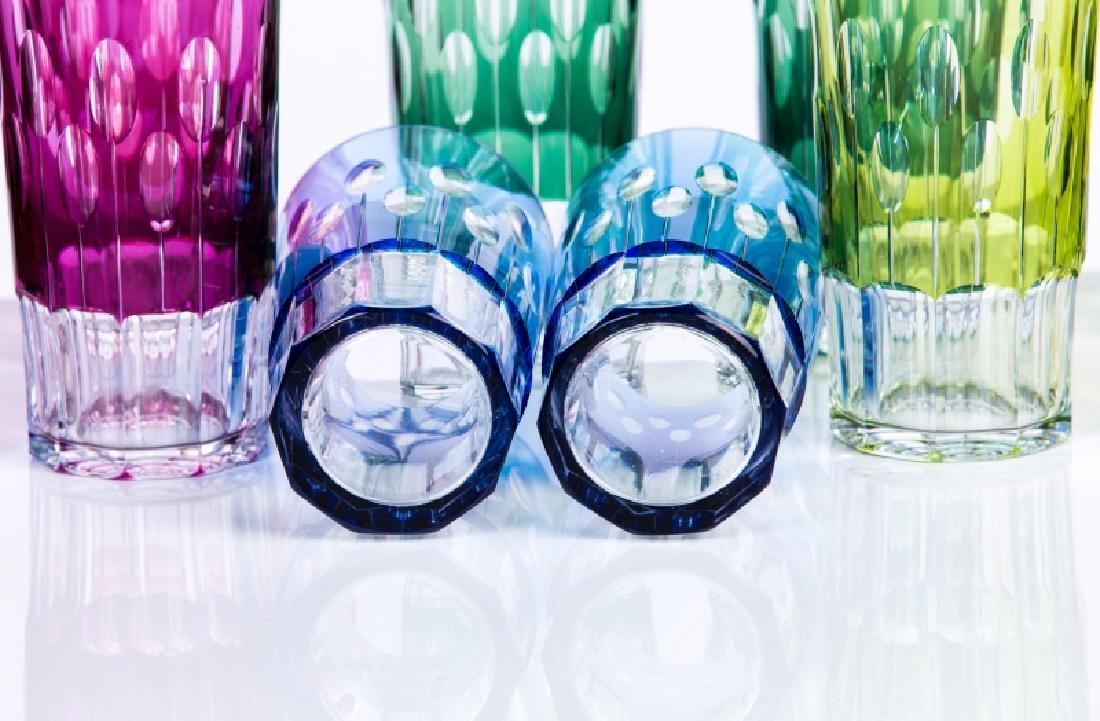 SET OF 12 UNSIGNED BACCARAT CRYSTAL GLASSES - 2