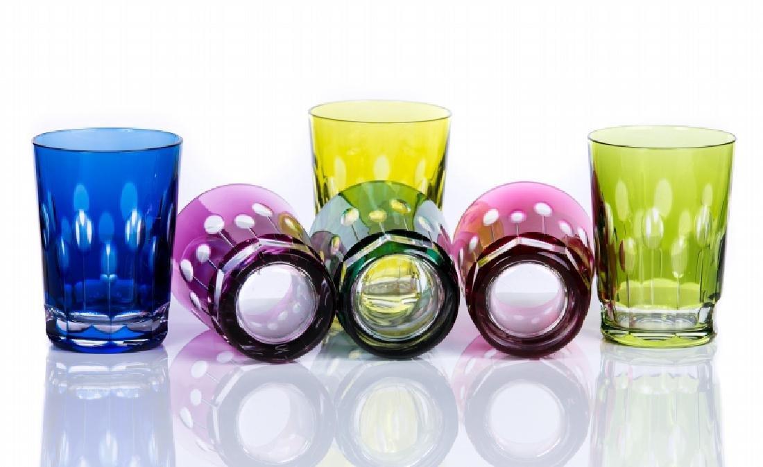 UNSIGNED BACCARAT CRYSTAL SET OF GLASSES - 2