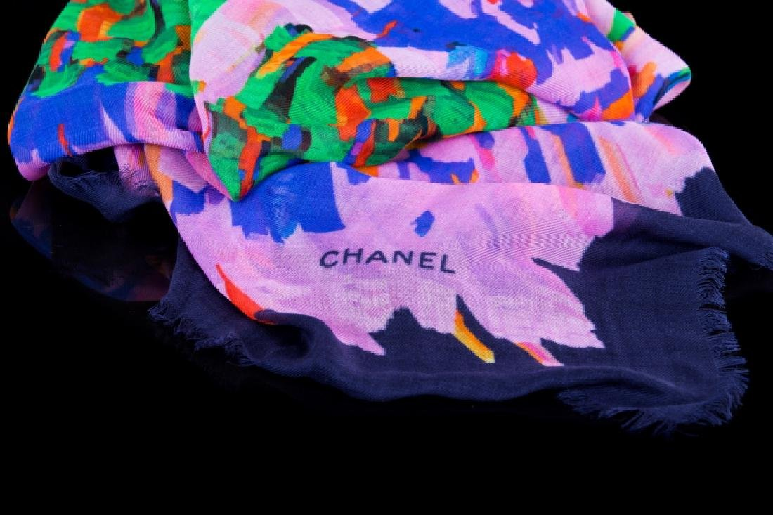 CHANEL NEW FROM NEIMAN MARCUS SCARF - 2