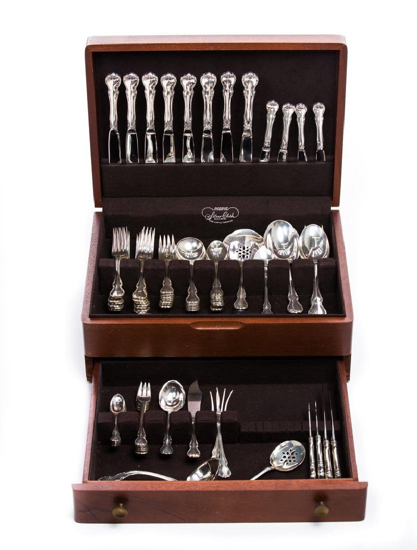 77 pc TOWLE FRENCH PROVINCIAL SS FLATWARE SET