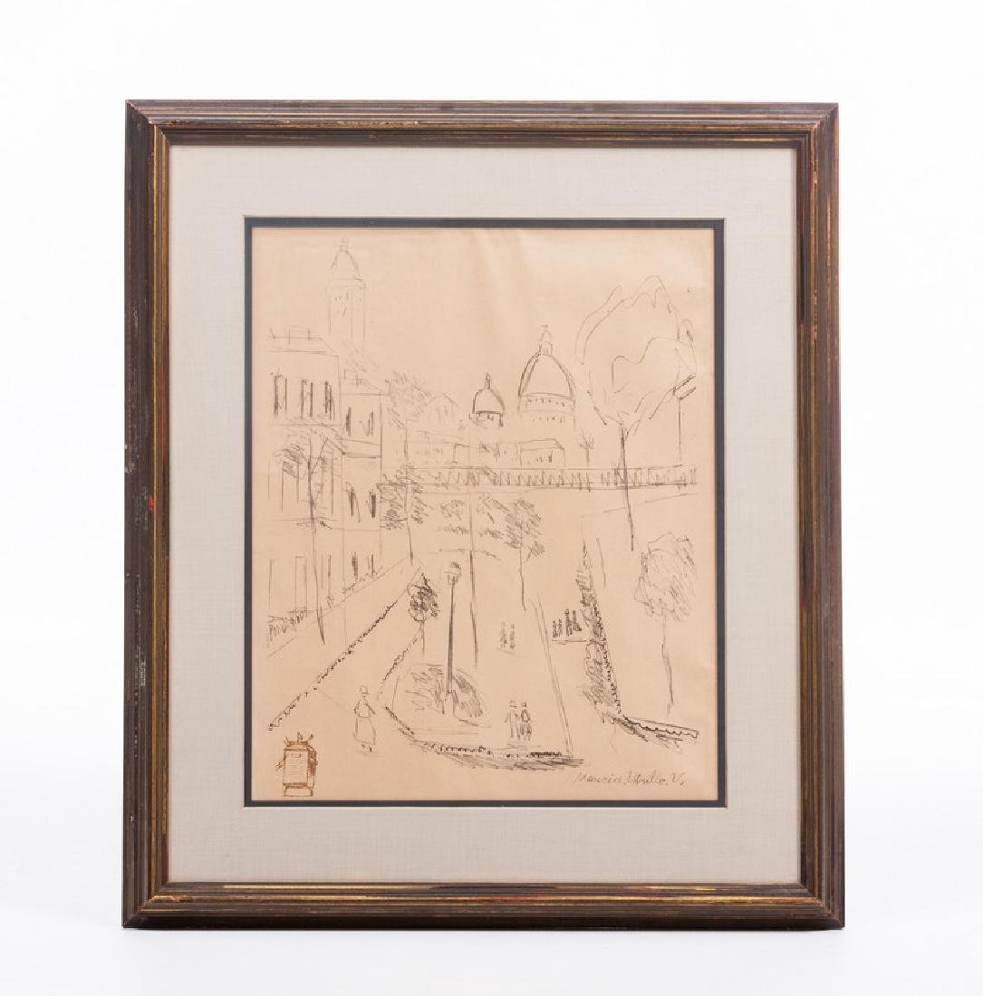 MAURICE UTRILLO (FR. 1883-1955) LITHOGRAPH SIGNED