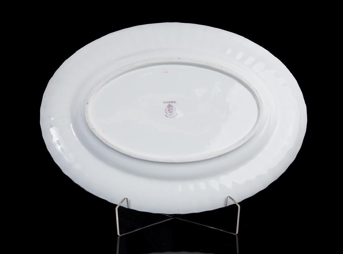 SET OF 12 DINNER PLATES ROYAL WORCESTER KASMIR - 2