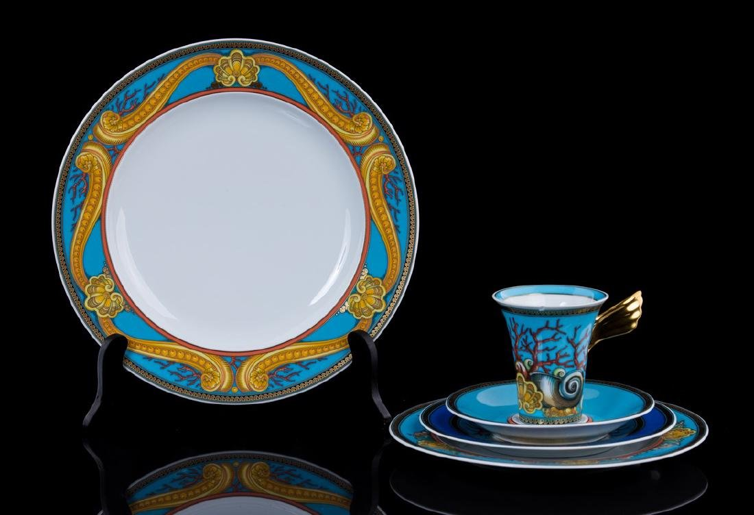 VERSACE 5 PC PLACE SETTING