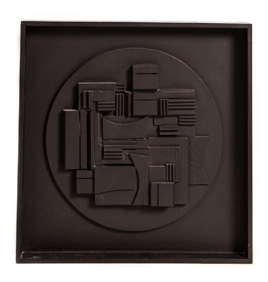 LOUISE NEVELSON (AMERICAN 1899 - 1988) FULL MOON