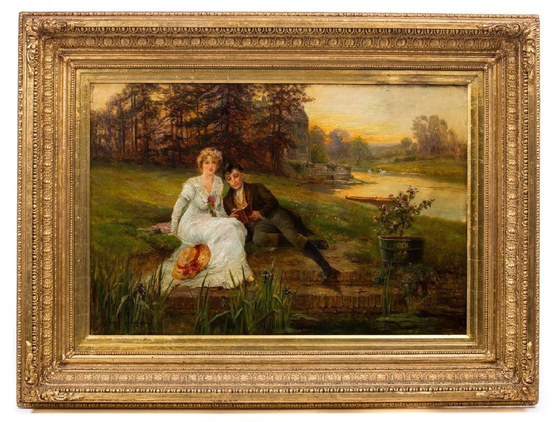 ERNEST WALBOURN (BRITISH 1872-1927) OPC