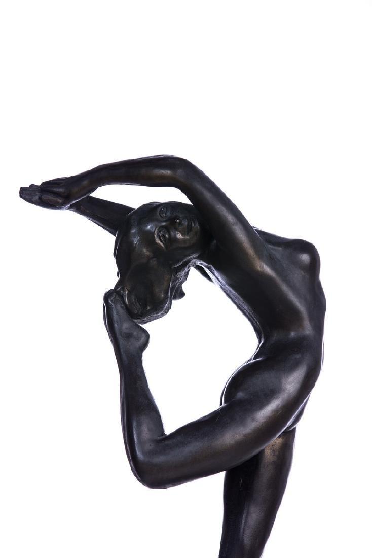 CERAMIC NUDE FIGURE OF A WOMAN - 5