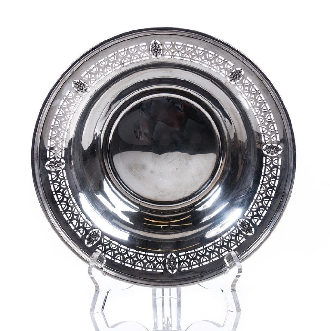 WHITING STERLING SILVER PIERCED BOWL