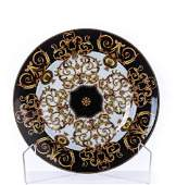 ROUND VERSACE ROSENTHAL BAROCCO PLATE