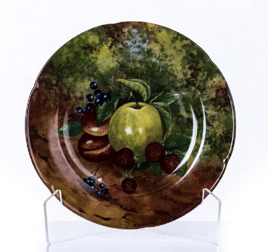 """10 LIMOGES FRANCE """"ROCHARD"""" SET OF PLATES - 2"""
