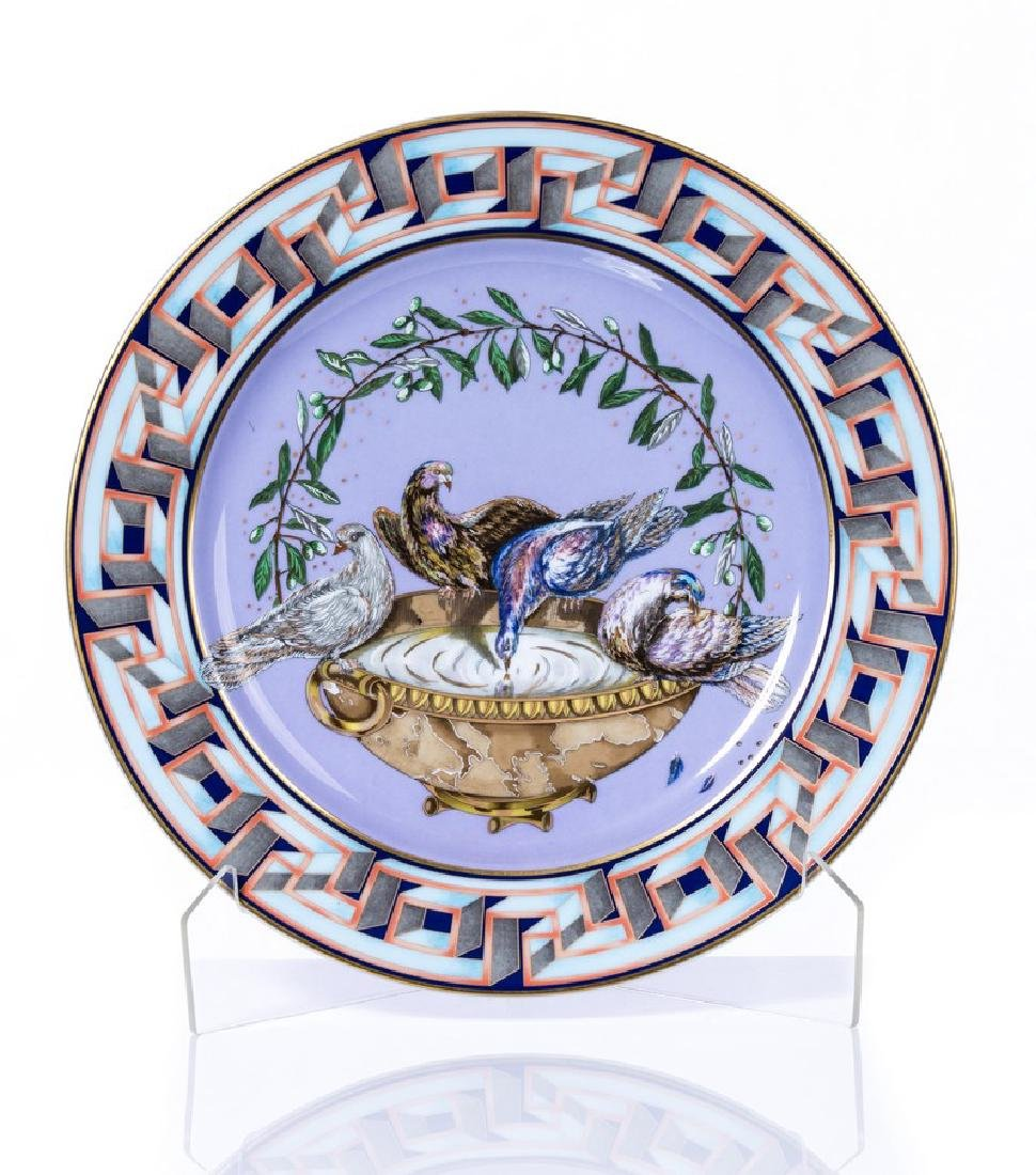 "VERSACE PLATE ""A WORLD OF PEACE"""