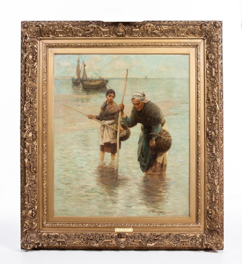 ROBERT MCGREGOR (SCOTTISH 1847-1922) OIL PAINTING
