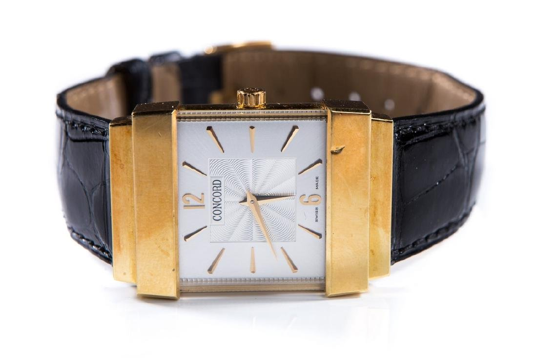 CONCORD CRYSTAL 18KT GOLD MEN'S WATCH
