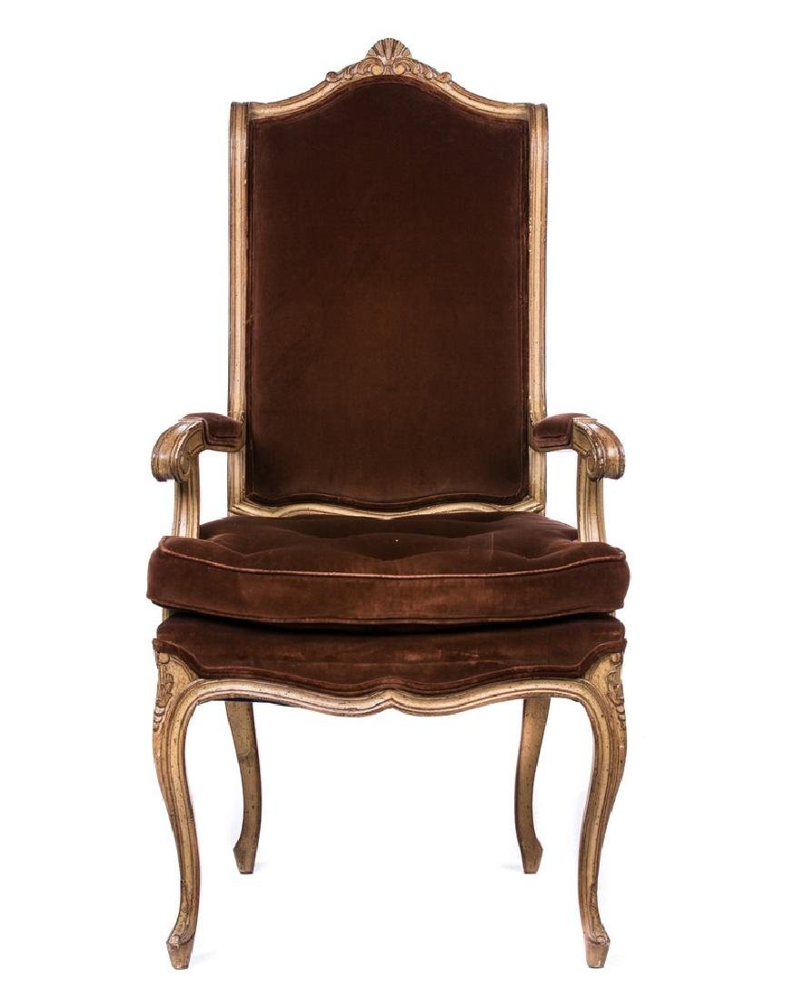 COUNTRY FRENCH ARM CHAIR