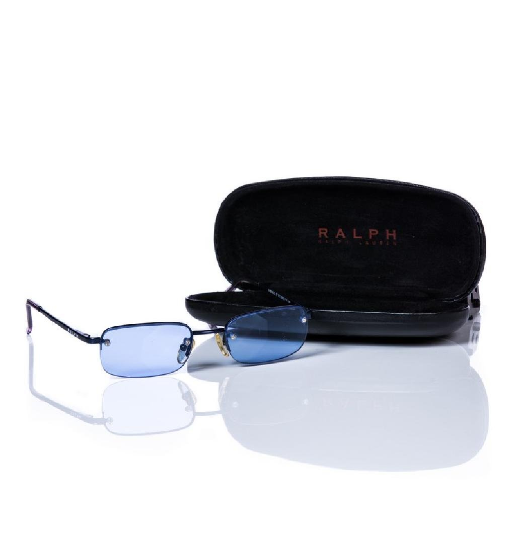 RALPH LAUREN BLUE SUNGLASSES