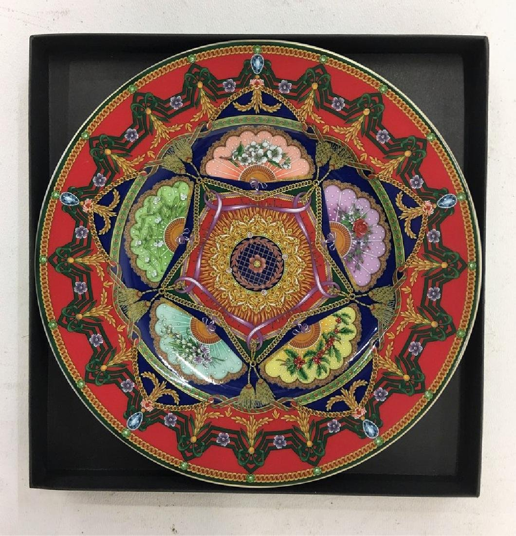 "ROSENTHAL VERSACE ""PEACE 2005"" PORCELAIN PLATE"
