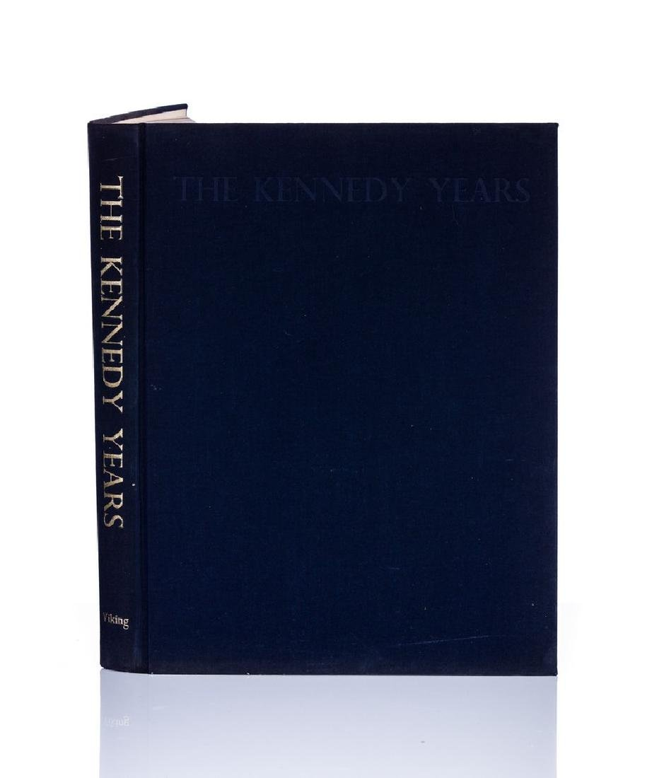 """""""THE KENNEDY YEARS"""" BOOK WITH NY TIMES PAPER - 4"""