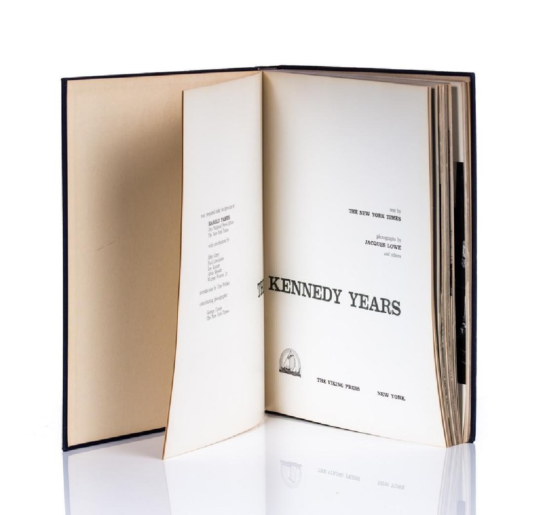 """""""THE KENNEDY YEARS"""" BOOK WITH NY TIMES PAPER - 5"""