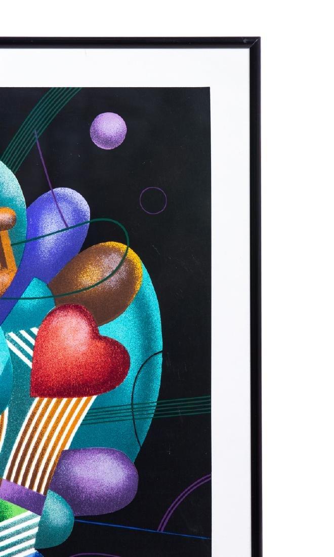 """YANKEL GINZBURG """"HEART"""" LITHOGRAPH 23/150 - 3"""