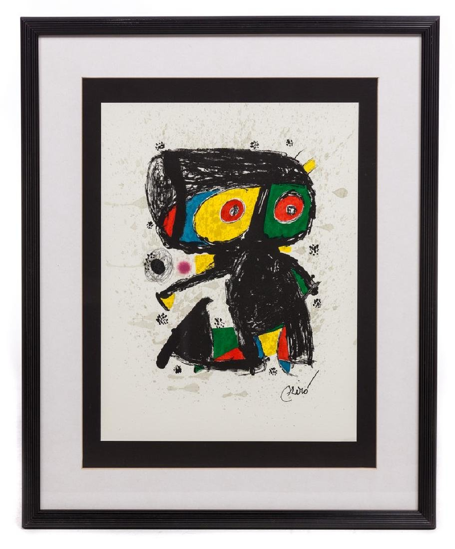JOAN MIRO ORIGINAL LITHO ANYS