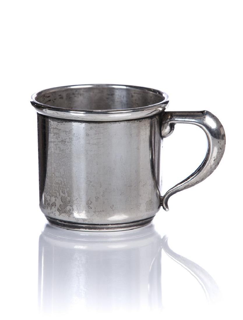 ANTIQUE MANCHESTER STERLING SILVER BABY CUP