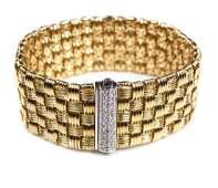 ROBERTO COIN APPASIONATA 18 KT & DIAMOND BRACELET