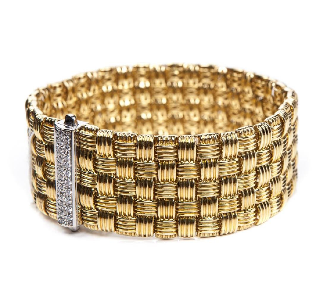 ROBERTO COIN APPASIONATA 18 KT & DIAMOND BRACELET - 2