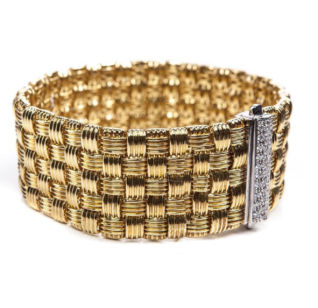ROBERTO COIN APPASIONATA 18 KT & DIAMOND BRACELET - 3