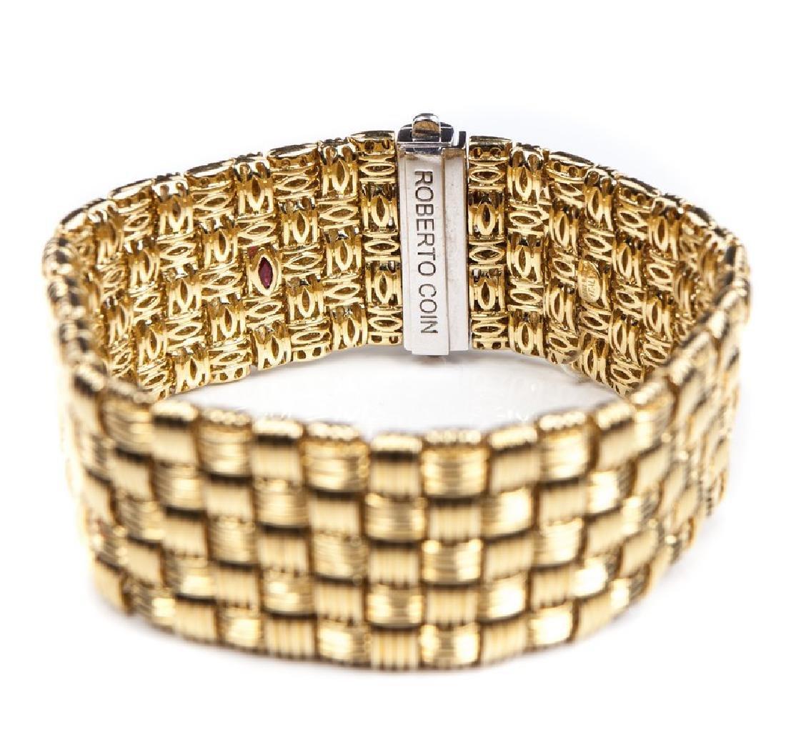 ROBERTO COIN APPASIONATA 18 KT & DIAMOND BRACELET - 5