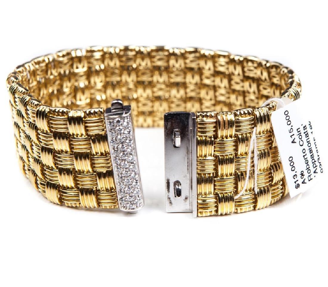 ROBERTO COIN APPASIONATA 18 KT & DIAMOND BRACELET - 6