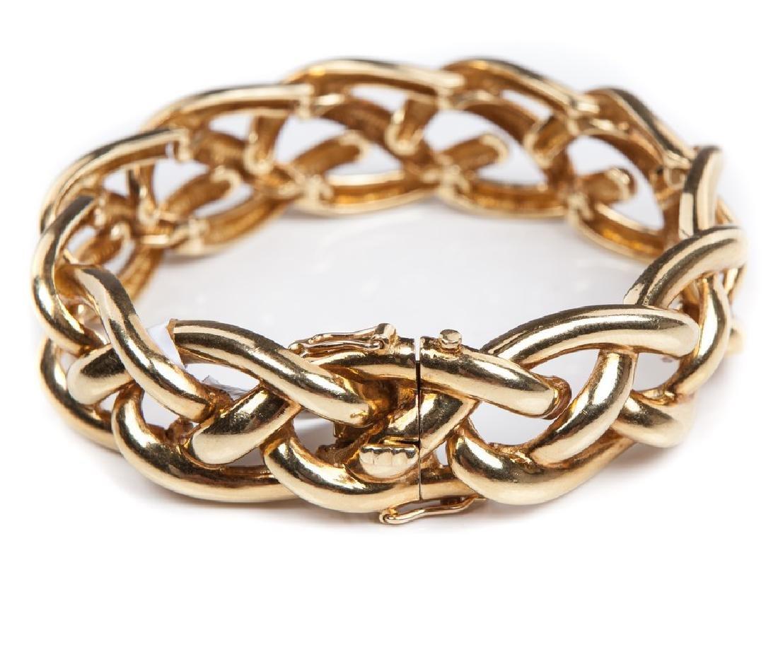 TIFFANY YELLOW GOLD BRACELET - 3