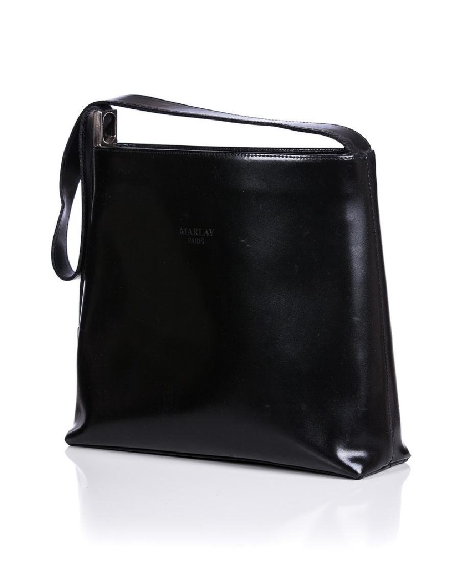 FURLA ITALIAN BLACK LEATHER BAG AND RALPH LAUREN - 6