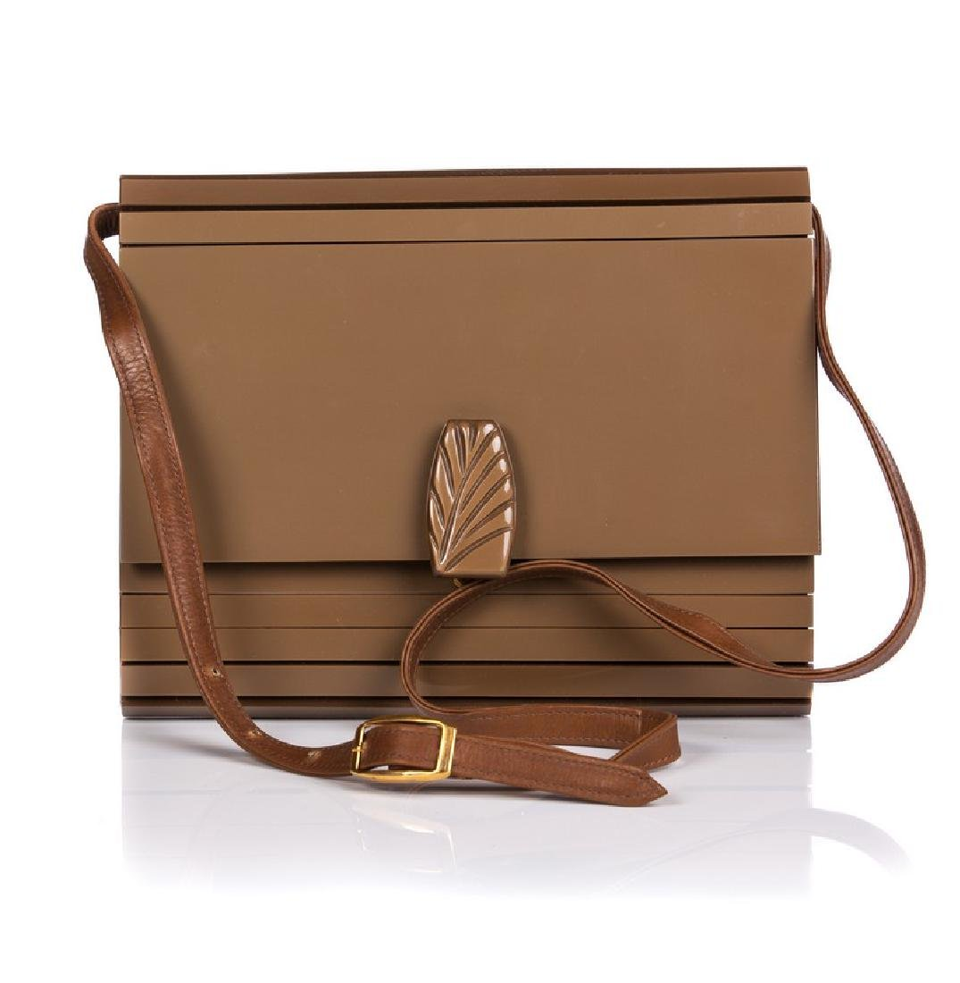 CUL DE SAC BROWN SHOULDER / CROSSBODYPURSE
